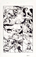 Original Comic Art:Panel Pages, Humberto Ramos and Carlos Cuevas X-Men #196 Story Page 10 Original Art (Marvel Comics, 2007)...