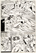 Original Comic Art:Panel Pages, Jose Delbo and Dave Hunt Wonder Woman #282 Story Page 12 Original Art (DC, 1981)....