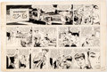Original Comic Art:Comic Strip Art, Alex Kotzky Apartment 3-G Sunday Comic Strip Original Art dated 9-17-61 (Publishers Syndicate, 1961)....