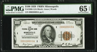 Fr. 1890-I $100 1929 Federal Reserve Bank Note. PMG Gem Uncirculated 65 EPQ