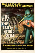 Movie Posters:Science Fiction, The Day the Earth Stood Still (20th Century Fox, 1951). Fi...