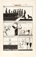 Original Comic Art:Panel Pages, L. B. Cole Classics Illustrated # 152 Wild Animals I Have Known Story Page 6 Original Art (Gilberton, ...