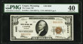 Casper, WY - $10 1929 Ty. 1 The Casper National Bank Ch. # 6850 PMG Extremely Fine 40