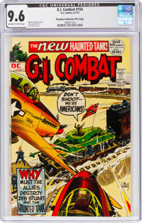 G.I. Combat #154 Murphy Anderson File Copy (DC, 1972) CGC NM+ 9.6 Off-white to white pages