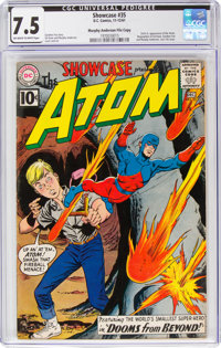 Showcase #35 The Atom - Murphy Anderson File Copy (DC, 1961) CGC VF- 7.5 Off-white to white pages