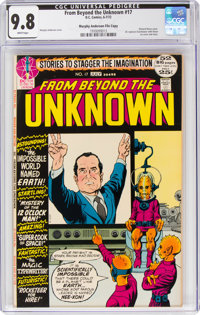 From Beyond the Unknown #17 Murphy Anderson File Copy (DC, 1972) CGC NM/MT 9.8 White pages