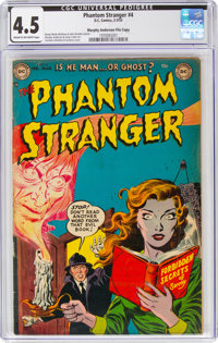 The Phantom Stranger #4 Murphy Anderson File Copy (DC, 1953) CGC VG+ 4.5 Cream to off-white pages