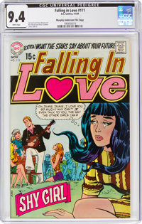Falling in Love #111 Murphy Anderson File Copy (DC, 1969) CGC NM 9.4 White pages