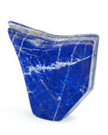 Lapidary Art:Carvings, Lapis Free-Form. Afghanistan. 5.91 x 5.31 x 1.39 inches (15.00 x 13.50 x 3.53 cm). ...