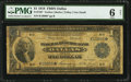 Fr. 740* $1 1918 Federal Reserve Bank Note PMG Good 6 Net