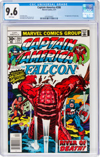 Captain America #208 (Marvel, 1977) CGC NM+ 9.6 White pages