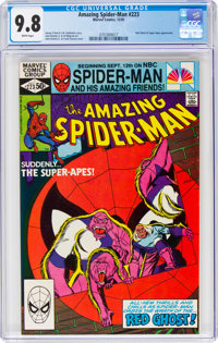 The Amazing Spider-Man #223 (Marvel, 1981) CGC NM/MT 9.8 White pages