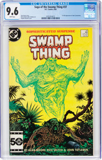 Saga of the Swamp Thing #37 (DC, 1985) CGC NM+ 9.6 White pages