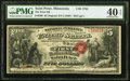 Saint Peter, MN - $5 Original Fr. 399 The First National Bank Ch. # 1794 PMG Extremely Fine 40 EPQ