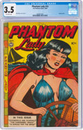Golden Age (1938-1955):Crime, Phantom Lady #14 (Fox Features Syndicate, 1947) CGC VG- 3.5 Off-white pages....