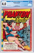 Golden Age (1938-1955):Superhero, Phantom Lady #19 (Fox Features Syndicate, 1948) CGC VG 4.0 Cream to off-white pages....