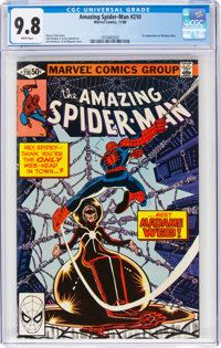 The Amazing Spider-Man #210 (Marvel, 1980) CGC NM/MT 9.8 White pages