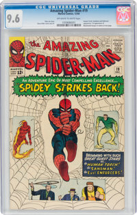 The Amazing Spider-Man #19 (Marvel, 1964) CGC NM+ 9.6 Off-white to white pages