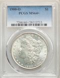 1885-O $1 MS64+ PCGS. This lot will also include the following: 1887 $1 MS64+ PCGS; and a 1900-O $1 MS64+ PCGS