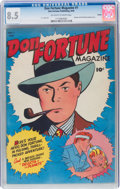 Golden Age (1938-1955):Adventure, Don Fortune Magazine #1 Toledo Pedigree (Don Fortune Publishing Co., 1946) CGC VF+ 8.5 Off-white to white pages....