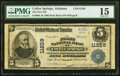 National Bank Notes:Alabama, Coffee Springs, AL - $5 1902 Plain Back Fr. 606 The First National Bank Ch. # 11259 PMG Choice Fine 15.. ...