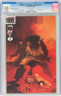 Modern Age (1980-Present):Horror, Zombies vs. Robots Aventure #1 Retailer Incentive Edition (IDW Publishing, 2010) CGC MT 10.0 White pages....