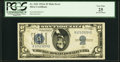 Error Notes:Inverted Reverses, Fr. 1651 $5 1934A Mule Silver Certificate. PCGS Very Fine ...