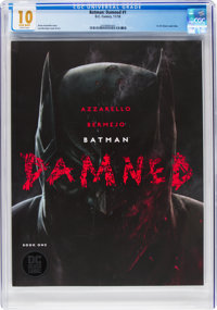 Batman: Damned #1 (DC, 2018) CGC MT 10.0 White pages