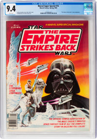 Marvel Comics Super Special #16 Star Wars: The Empire Strikes Back(Marvel, 1980) CGC NM 9.4 White pages