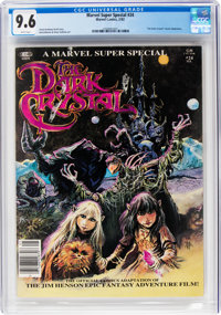 Marvel Comics Super Special #24 The Dark Crystal (Marvel, 1982) CGC NM+ 9.6 White pages