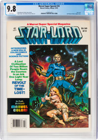 Marvel Comics Super Special #10 Star-Lord (Marvel, 1979) CGC NM/MT 9.8 White pages