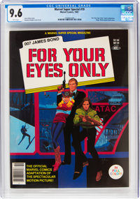 Marvel Comics Super Special #19 For Your Eyes Only (Marvel, 1981) CGC NM+ 9.6 White pages