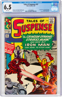 Tales of Suspense #52 (Marvel, 1964) CGC FN+ 6.5 White pages