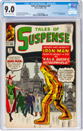 Silver Age (1956-1969):Superhero, Tales of Suspense #43 (Marvel, 1963) CGC VF/NM 9.0 Off-white to white pages....