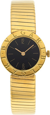 Bvlgari Lady's Gold Tubogas Watch
