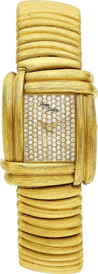 Henry Dunay Lady's Diamond, Gold Sabi Watch