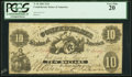 Confederate Notes:1861 Issues, T10 $10 1861 PF-15 Cr. UNL PCGS Very Fine 20.. ...