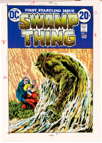 Swamp Thing #1 Cover Progressive Color Proofs (DC, 1972)