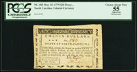 North Carolina May 15, 1779 $20 Peace on Honorable Terms PCGS Apparent Choice About New 55