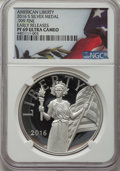 Modern Bullion Coins, 2016-S Medal American Liberty, Early Releases PR69 Ultra Cameo NGC. PCGS Population: (1266/1184)....