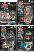 Memorabilia:Miscellaneous, Tarzan, The Epic Adventures Action Figures and Playsets Group of 8 (Trendmasters, 1995).... (Total: 8 Items)