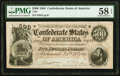 Confederate Notes:1864 Issues, T64 $500 1864 PF-2 Cr. 489 PMG Choice About Unc 58 EPQ.. ...