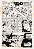Original Comic Art:Panel Pages, Bob Brown and Don Heck Avengers #123 Story Page 16 Vision and Mantis Original Art (Marvel, 1974)....