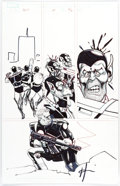 Original Comic Art:Panel Pages, Howard Chaykin Punisher War Journal #25 Story Page 28 Original Art (Marvel, 2009)....