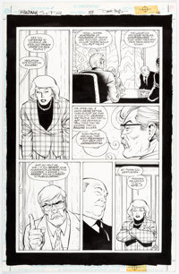 Dave Taylor and Stan Woch Batman:Shadow of the Bat #53 Story Page 12 Original Art (DC, 1996)
