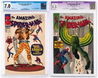 The Amazing Spider-Man #47 and 48 CGC-Graded Group (Marvel, 1967).... (Total: 2 Comic Books)