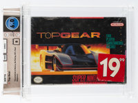 Top Gear [Assembled in Mexico] Wata 6.0 B Sealed SNES Kemco 1992 USA