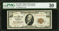 Fr. 1860-I* $10 1929 Federal Reserve Bank Note. PMG Very Fine 30