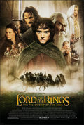"""Movie Posters:Fantasy, The Lord of the Rings: The Fellowship of the Ring (New Line, 2001). Rolled, Very Fine/Near Mint. One Sheet (27"""" X 40"""") DS Ad..."""