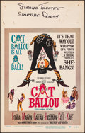 """Movie Posters:Comedy, Cat Ballou & Other Lot (Columbia, 1965). Fine/Very Fine. Window Cards (3) (14"""" X 22""""). Comedy.. ... (Total: 3 Items)"""